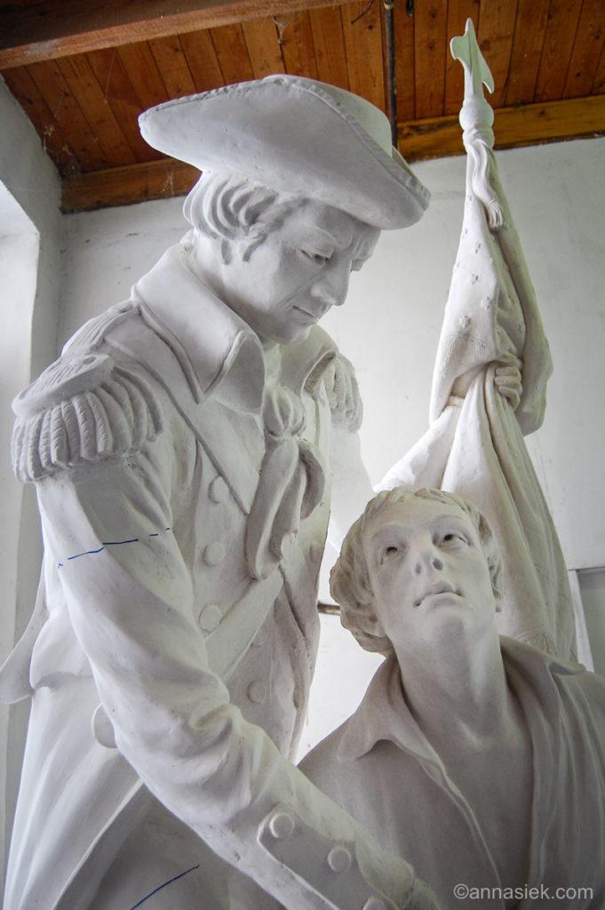 Sculpture Copies | Anna Siek | Printmaking and Painting